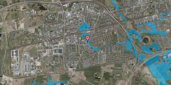 Oversvømmelsesrisiko fra vandløb på Pile Alle 2A, 1. tv, 2630 Taastrup