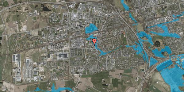 Oversvømmelsesrisiko fra vandløb på Pile Alle 2B, 1. tv, 2630 Taastrup