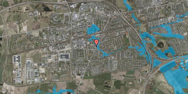 Oversvømmelsesrisiko fra vandløb på Pile Alle 2B, st. th, 2630 Taastrup