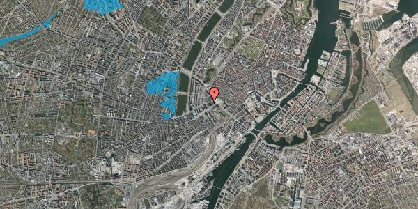 Oversvømmelsesrisiko fra vandløb på Jernbanegade 11, 1608 København V