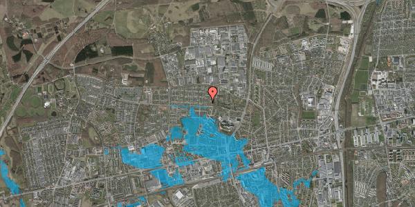 Oversvømmelsesrisiko fra vandløb på Haveforeningen Hersted 27, 2600 Glostrup