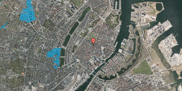 Oversvømmelsesrisiko fra vandløb på Pilestræde 58, 6. , 1112 København K