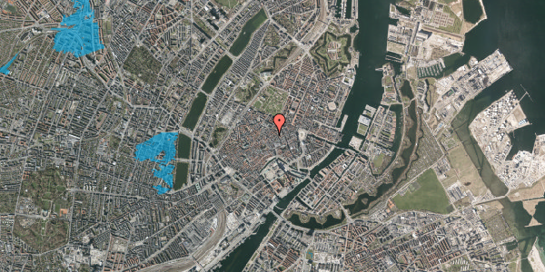 Oversvømmelsesrisiko fra vandløb på Kronprinsensgade 6, 1. , 1114 København K
