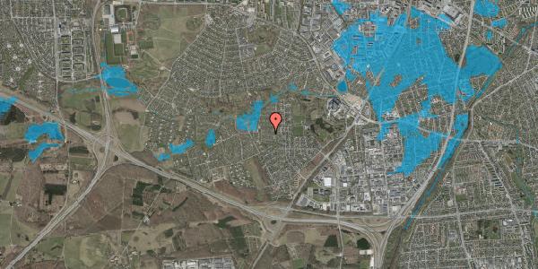 Oversvømmelsesrisiko fra vandløb på Vængedalen 314, 2600 Glostrup