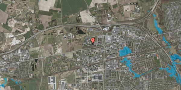 Oversvømmelsesrisiko fra vandløb på Gregersensvej 8G, 2630 Taastrup