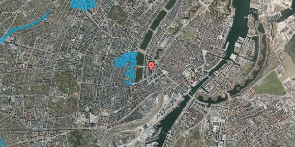 Oversvømmelsesrisiko fra vandløb på Herholdtsgade 4, 3. , 1605 København V