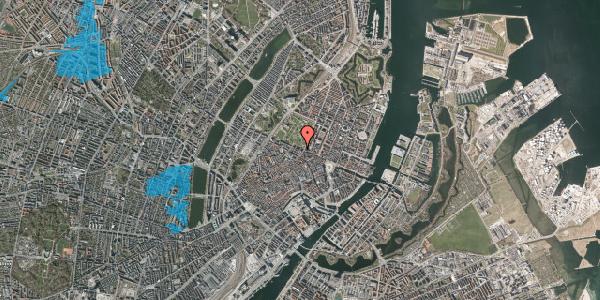 Oversvømmelsesrisiko fra vandløb på Sjæleboderne 8, 1122 København K