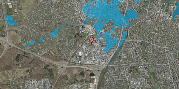 Oversvømmelsesrisiko fra vandløb på Ejbyholm 44, 2600 Glostrup