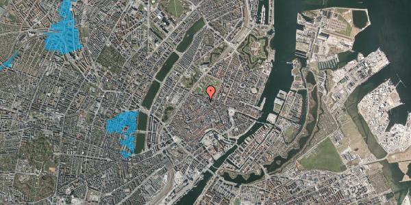 Oversvømmelsesrisiko fra vandløb på Vognmagergade 9, 3. th, 1120 København K