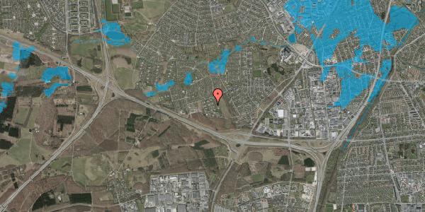 Oversvømmelsesrisiko fra vandløb på Kamillevænget 33, 2600 Glostrup