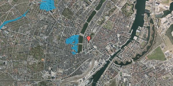 Oversvømmelsesrisiko fra vandløb på Vester Farimagsgade 29, 4. th, 1606 København V