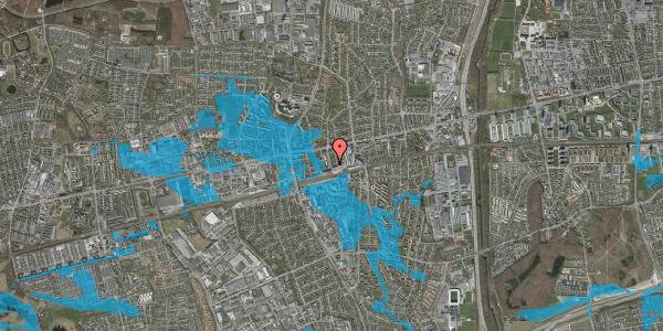 Oversvømmelsesrisiko fra vandløb på Nyvej 19, 2. th, 2600 Glostrup