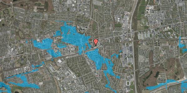 Oversvømmelsesrisiko fra vandløb på Nyvej 21, 1. tv, 2600 Glostrup