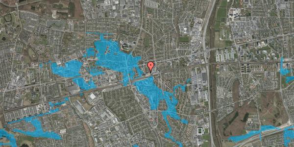 Oversvømmelsesrisiko fra vandløb på Sydvestvej 6, 1. th, 2600 Glostrup