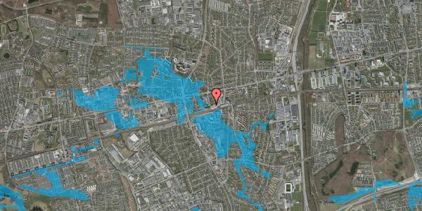 Oversvømmelsesrisiko fra vandløb på Sydvestvej 8, 1. th, 2600 Glostrup