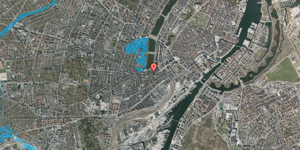 Oversvømmelsesrisiko fra vandløb på Vesterbrogade 30, 3. tv, 1620 København V