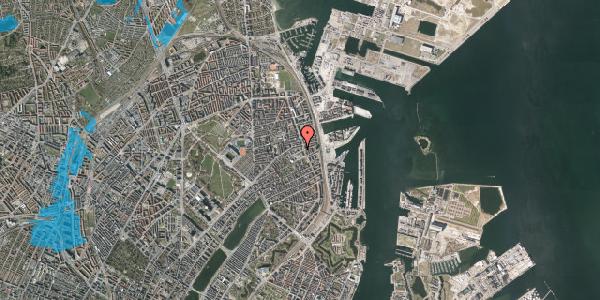 Oversvømmelsesrisiko fra vandløb på Strandboulevarden 51, 2100 København Ø