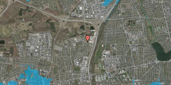 Oversvømmelsesrisiko fra vandløb på Bovneager 2, 2600 Glostrup