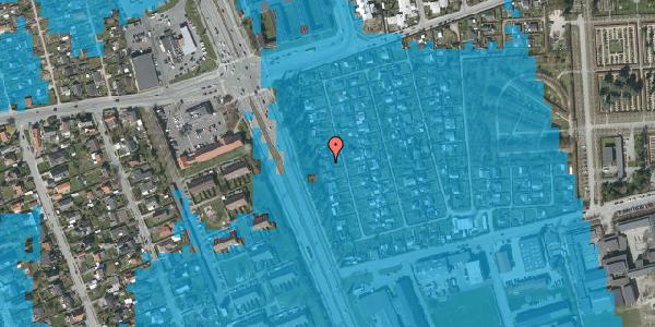 Oversvømmelsesrisiko fra vandløb på Hf. Svarø 27, 2650 Hvidovre