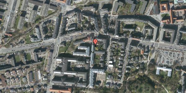 Oversvømmelsesrisiko fra vandløb på Porcelænshaven 3B, 2000 Frederiksberg