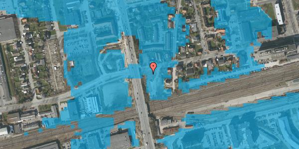 Oversvømmelsesrisiko fra vandløb på Sydvestvej 49A, st. 3, 2600 Glostrup