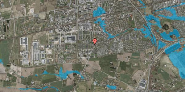 Oversvømmelsesrisiko fra vandløb på Taastrup Hovedgade 158E, 2630 Taastrup