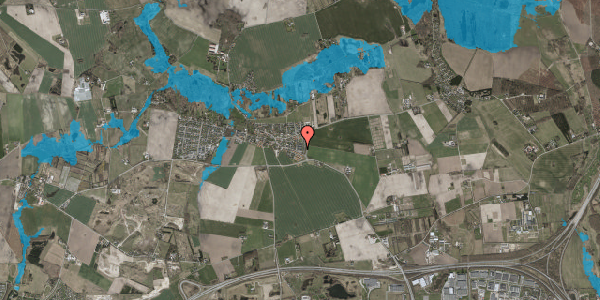 Oversvømmelsesrisiko fra vandløb på Landsbygaden 4A, . 2, 2630 Taastrup