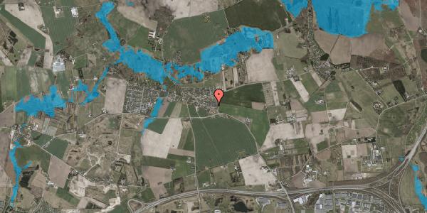 Oversvømmelsesrisiko fra vandløb på Landsbygaden 4A, . 6, 2630 Taastrup