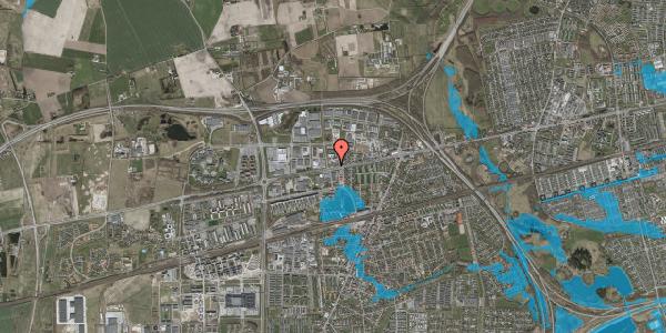 Oversvømmelsesrisiko fra vandløb på Roskildevej 378A, 2630 Taastrup