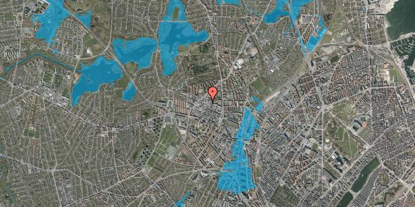 Oversvømmelsesrisiko fra vandløb på Birkedommervej 31, 3. , 2400 København NV