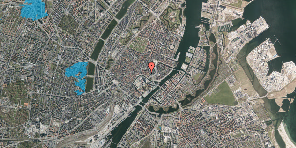 Oversvømmelsesrisiko fra vandløb på Dybensgade 19, 1071 København K