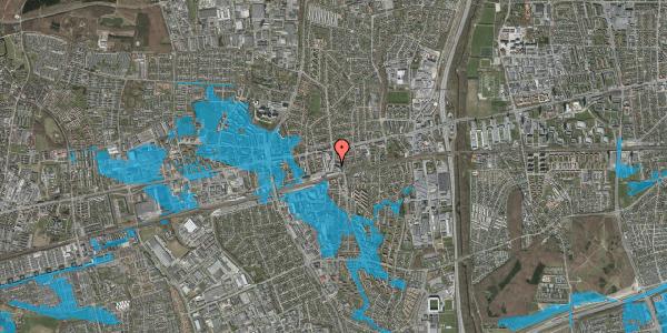 Oversvømmelsesrisiko fra vandløb på Banegårdsvej 13, 2. , 2600 Glostrup