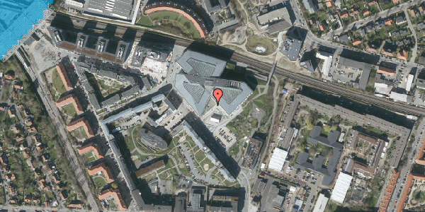 Oversvømmelsesrisiko fra vandløb på Marguerite Vibys Plads 7, 2. , 2000 Frederiksberg