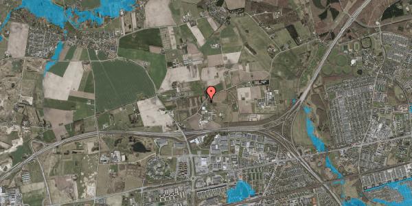 Oversvømmelsesrisiko fra vandløb på Snubbekorsvej 20C, 2630 Taastrup
