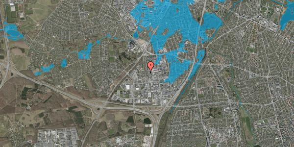 Oversvømmelsesrisiko fra vandløb på Ydergrænsen 40, 2600 Glostrup