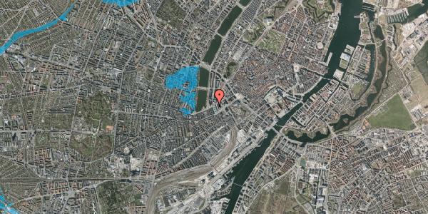 Oversvømmelsesrisiko fra vandløb på Ved Vesterport 9, 1612 København V