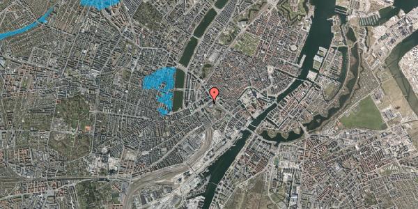 Oversvømmelsesrisiko fra vandløb på Vesterbrogade 1L, 1. , 1620 København V