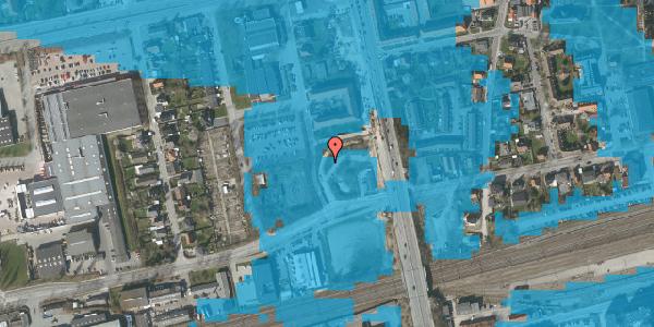 Oversvømmelsesrisiko fra vandløb på Engtoftevej 2, 2600 Glostrup