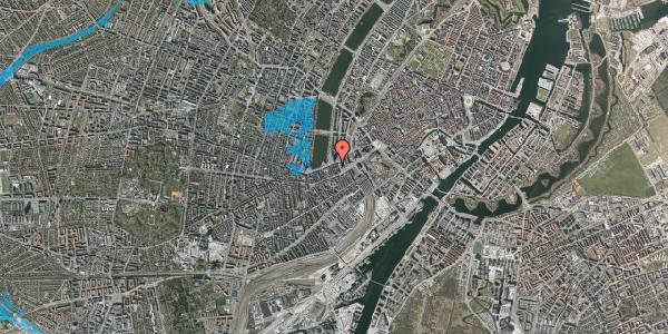 Oversvømmelsesrisiko fra vandløb på Gammel Kongevej 3D, 2. , 1610 København V