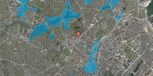 Oversvømmelsesrisiko fra vandløb på Birkedommervej 43, 2400 København NV