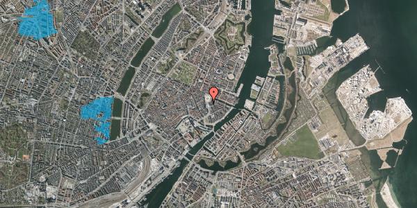 Oversvømmelsesrisiko fra vandløb på Kongens Nytorv 9, 3. , 1050 København K