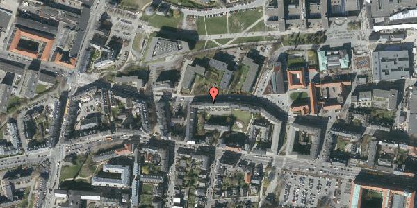 Oversvømmelsesrisiko fra vandløb på Howitzvej 51B, st. th, 2000 Frederiksberg