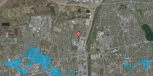 Oversvømmelsesrisiko fra vandløb på Hvissingeparken 13B, 2600 Glostrup