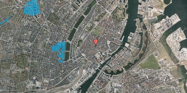 Oversvømmelsesrisiko fra vandløb på Gråbrødretorv 17A, 1. th, 1154 København K
