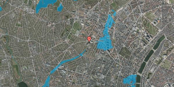 Oversvømmelsesrisiko fra vandløb på Jordbærvej 93, 1. , 2400 København NV