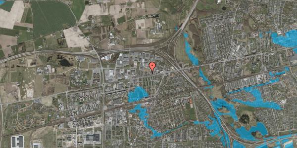 Oversvømmelsesrisiko fra vandløb på Roskildevej 342E, 2630 Taastrup