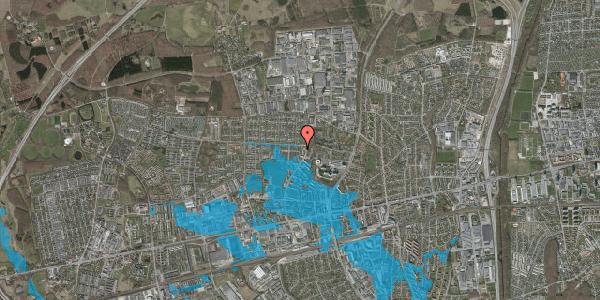 Oversvømmelsesrisiko fra vandløb på Haveforeningen Hersted 17, 2600 Glostrup