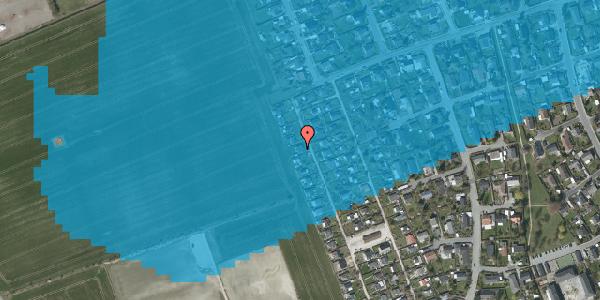 Oversvømmelsesrisiko fra vandløb på Hf. Dahlia 64, 2650 Hvidovre