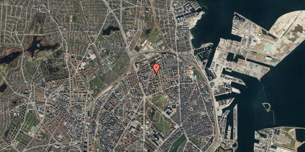 Oversvømmelsesrisiko fra vandløb på Victor Bendix Gade 10, 4. , 2100 København Ø