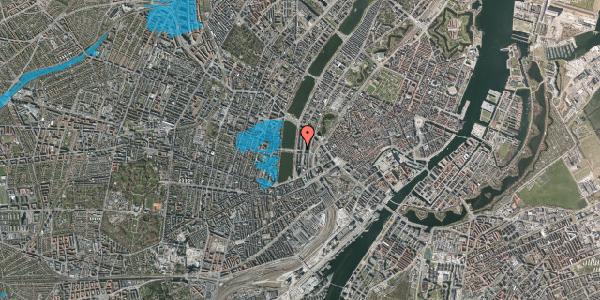 Oversvømmelsesrisiko fra vandløb på Kampmannsgade 4, 3. , 1604 København V